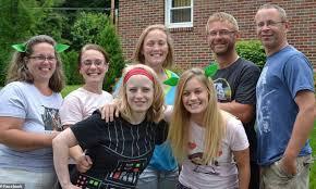 Amy Steenburg, Allison King, Abby Jackson, Mary Dyson 4 sisters killed
