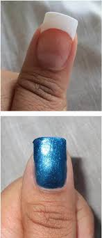 acrylic nail extension removal