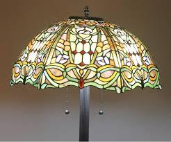 beveled glass floor lamp lamp bases