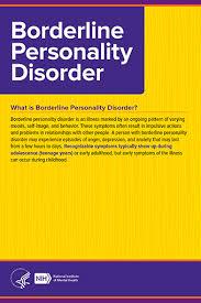 nimh borderline personality disorder