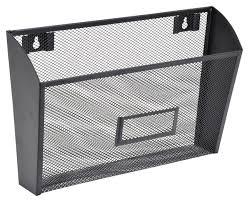 lorell steel single wall mesh wire