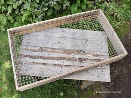 easy diy post sifter plans and