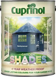 New 2018 Cuprinol Garden Shades Willow 5l Amazon Co Uk Diy Tools