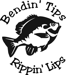 Bendin Tips Rippin Lips Bluegill Freswater Fishing Etsy