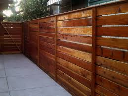 Horizontal Modern Redwood Fence 1x6 With 1x4 Divider Redwood Fence Wood Fence Design Wood Fence