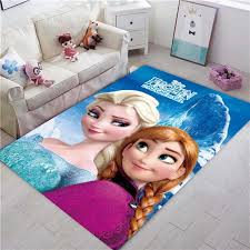 Best Price Ae6b6 Disney Frozen Rug Kids Playmat Cartoon Princess Cute Children Room Carpet Tale Girl Bedroom Living Room Blanket Kids Rug Gift Cicig Co