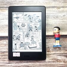 Máy Nhật Cũ] Máy Đọc Sách Kindle Paperwhite Manga Gen 3 7th Code 7941