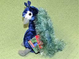 "AURORA PERRY PEACOCK 12"" Plush Flopsies Stuffed Animal Blue Green Plush  Bird - $10.00 | PicClick"