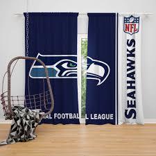 Nfl Seattle Seahawks Bedroom Curtain Ebeddingsets
