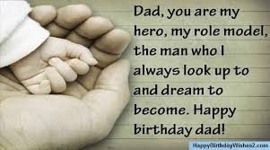 happy birthday wishes messages quotes for father dad