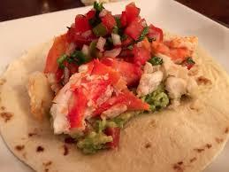 King Crab Taco : food