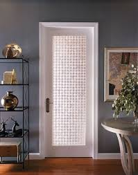 frosted glass interior door photo 12