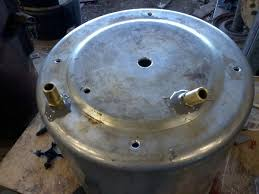 my built open bowl centrifuge