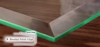 professionally crafted glass edgework