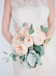 garden rose wedding bouquets