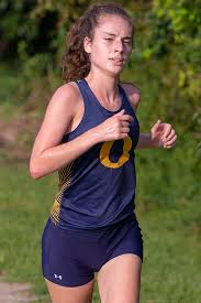 Senior Abby George provides leadership and a steady pace for the Lady  Panthers team. WEB - O'Fallon Weekly