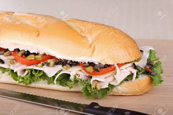 """Resultado de imagen para Sandwich de pavo en pan francés"""""""