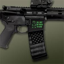 Ar 15 Mag Well Decals Mil Spec Monkey All Out Of F Ks