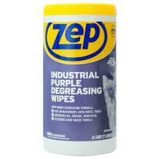 industrial purple de wipes
