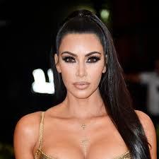 kim kardashian s makeup at met gala