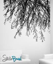 Vinyl Wall Decal Sticker Tree Branches Hanging Down 804 Stickerbrand