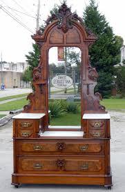details about antq victorian wooden