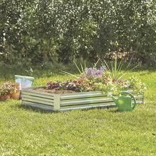 Galvanized Steel Raised Garden Planter Bed 6ft X 3ft Model 2811s533