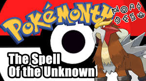 POKEMONTH: Pokemon 3 The Spell of the Unknown - Il Neige - YouTube
