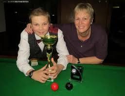 ME/CFS South Australia Inc: Jackie Ellis And Son Riley Claim Snooker Success