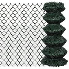 Chain Fence Green Privacy Mesh Galvanized Steel Wires Home Garden Screen Net Ebay Chain Fence Chain Link Fence Metal Fence