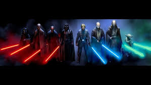 star wars lightsaber characters