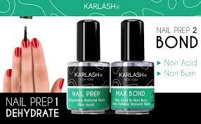 acrylic powder and gel nail polish