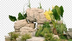 park rockery stone free png