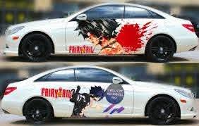 Fairy Tail Gray Fullbuster Anime Car Side Door Vinyl Decal Sticker Fit Any Car Ebay
