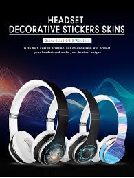 Custom Removable Adhesive Protective Film Vinyl Wrap Earphone Stickers Headphones Wireless Headset Skin 3m Decals For Beats Solo Buy Headset Skin Wireless Headset Skin 3m Decals For Beats Product On Alibaba Com