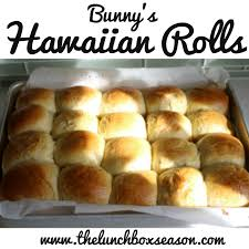 hawaiian rolls for easter monday ham