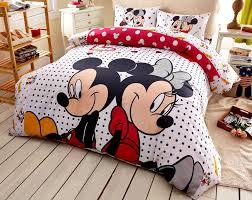 mickey minnie mouse polka dot bedding