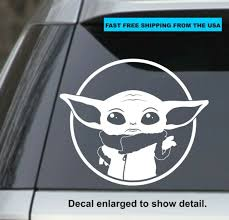 Star Wars Millennium Falcon White Cut Vinyl Sticker Decal For Sale Online Ebay