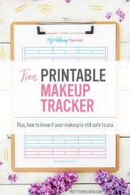 makeup inventory tracker free