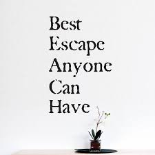 The Beach Is The Best Escape Wall Quotes Decal Wallquotes Com