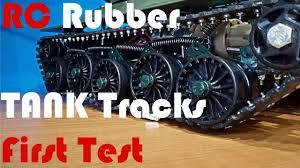 homemade rubber tracks for rc tank