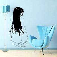 Japanese Cartoon Vinyl Wall Decal Anime Manga Manga Sexy Girl With Tatoo Mural Art Wall Sticker Home Decoration Bedroom Decor Decal Wall Quotes Decal Wall Sticker From Xymy757 11 06 Dhgate Com