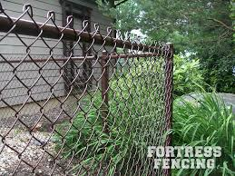Residential Chain Link Fencing Fortress Fencing