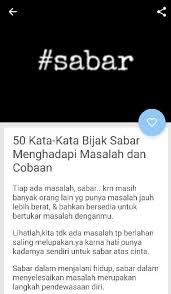 status sabar wa for android apk