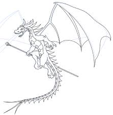 how to draw a dragon part 2 plete