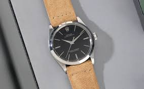 strap guide rolex black oyster 34 mm