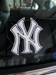 Yankees Car Decal New Window Sticker York Stickers Sutanrajaamurang