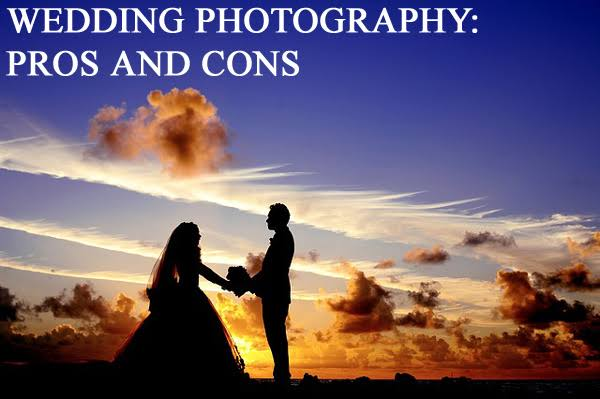 Image result for Pros and Cons of having a Wedding Photographer""