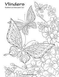Amazon Com Vlinders Kleurboek Voor Volwassenen 1 2 Dutch