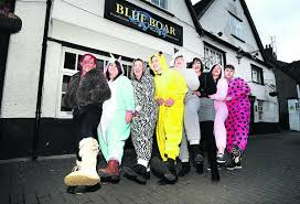Onesie fun for a Leah's Wish charity night | Oxford Mail